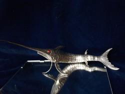 Fantasztikus ezüst kardhal 102 g mozgó farokkal