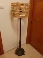 Antik réz állólámpa