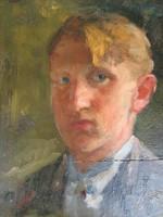 Nagy Oszkár: Fiatal férfi portré