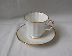 Aranyozott angol kávés készlet (Elizabethan)