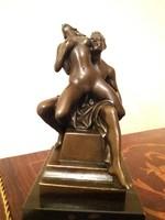 Erotikus jelenet - bronz szobor