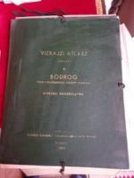 Vízrajzi Atlasz sorozat 4. Bodrog 1962.