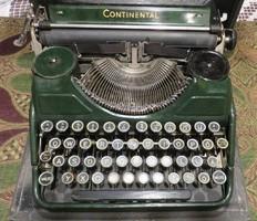 Continentál írógép ZÖLD!!!