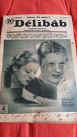 1937.október 9 / Délibáb szinházi hetilap