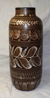 Hódmezővásárhelyi nagyméretű váza  32 cm csonagyon szép
