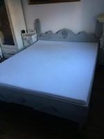 Vintage ágy, ágykeret + rács 160 * 200