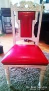 Felújított ónémet szék