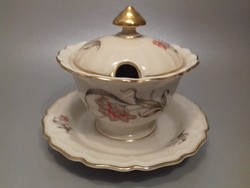Rosenthal Regina porcelán fedeles cukortartó jelzett