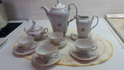 Porcelán kávéskészlet eladó! 4 személyes
