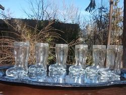 Üvegcsizma-stampis pohár 4 cl