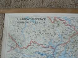 Kárpát-Medence térképe