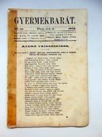 1862 október 9  /  Gyermekbarát  /  RÉGI ÚJSÁG Ssz.: 530