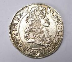 Lipót XV krajcár 1684 KB