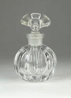 0Q071 Antik kisméretű madaras parfümös üvegcse