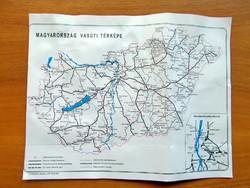 Magyarország vasúti térképe / Közvetlen nemzetközi összeköttetések