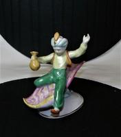 Aladdin Kispesti kézi festésű porcelán figura