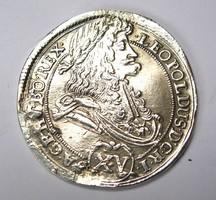Lipót XV krajcár 1695 KB