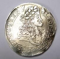 Lipót XV krajcár 1681 KB