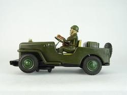 0Q208 Antik lemezárugyári katonai terepjáró autó