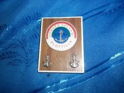 Honvéd folyami flotilla katonai emlék dísz