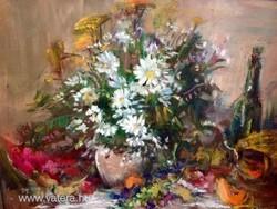 Séday Éva festőművész (1929- 2011) - Csendélet