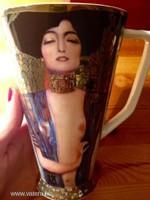 66-998-03-0 Gustav KLIMT porcelán bögre 15 cm - Judith 1 - stílusos ajándék