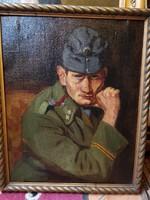 Karakteres katona portré