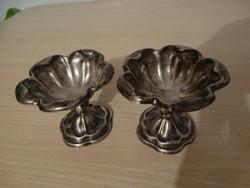 Antik Altwien ezüst fűszertartó pár , ritkaság !