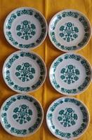 Alföldi porcelán kistányérok ( 6 db)