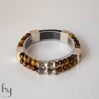 Tiger Eye Bracelet Duo