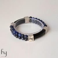 Sodalite Bracelet Duo 2