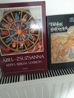 Könyv- Bibliai könyvek 2 db