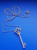 Tiffany&Co - 66 db. gyémánt - ezüst medál