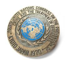 4. Nemzet kongresszus a bűnözés megelőzéséről és az elkövetők bánásmódjáról,Kyoto 1970