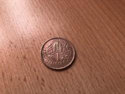 1912 ezüst 1 korona szép db