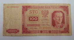 Lengyelország 100 zloty 1948.