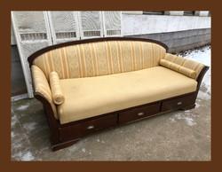 Romantikus toscana,3 személyes,fiókos kanapé