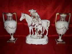 Antik Royal Dux szobor csoport