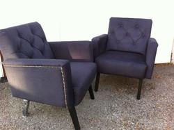 Gyönyörű, bársony fotel, 2 db új állapot