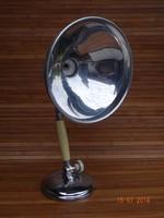Art deco infralámpa Kurt Rosenthal desing, asztali lámpa  loft design