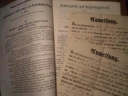 Előfogat - Vorspann.+ Kormánylap 1850
