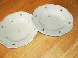 Zsolnay mély tányér 2 darab