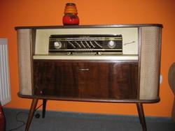 SIMONETTA zeneszekrény, gyönyörű állapotban (1950'-es évek)