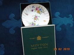 """Az Angol Királyi Ház ajánlatával ,MINTON """"Marlowe"""" mintás dísztálka díszdobozban"""