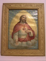 Antik képkeret szentképpel