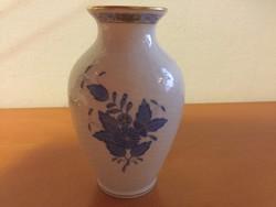 Herendi kék Apponyi mintás váza