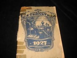 A Magyarság Évkönyve 1927  ,,,érdekes  olvasni való