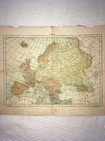 Térkép/ Európa a Monarchia idelyében./ Budapest, Rudnyánszky A .  Könyvnyomdájából Dobrowsky és Fran