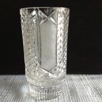 Antik ólomkristály váza