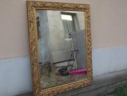 Gyönyörű gigantikus méretű tükör(felújított)OLVASS!Budára is!